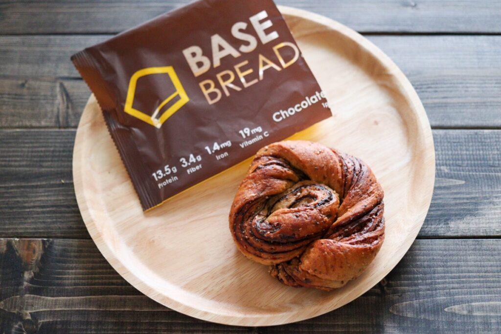 ベースブレッド チョコレート ベースフード パン 口コミ 味