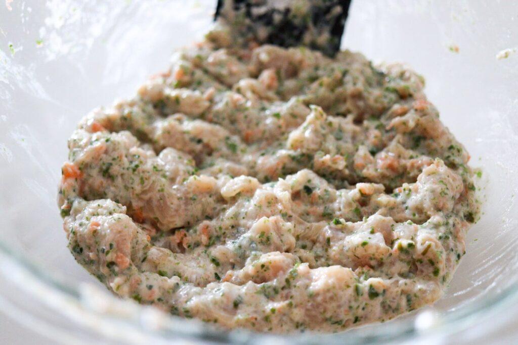 鶏胸肉 チキンナゲット 豆腐 卵なし 野菜嫌い 揚げない 子供 幼児食 レシピ
