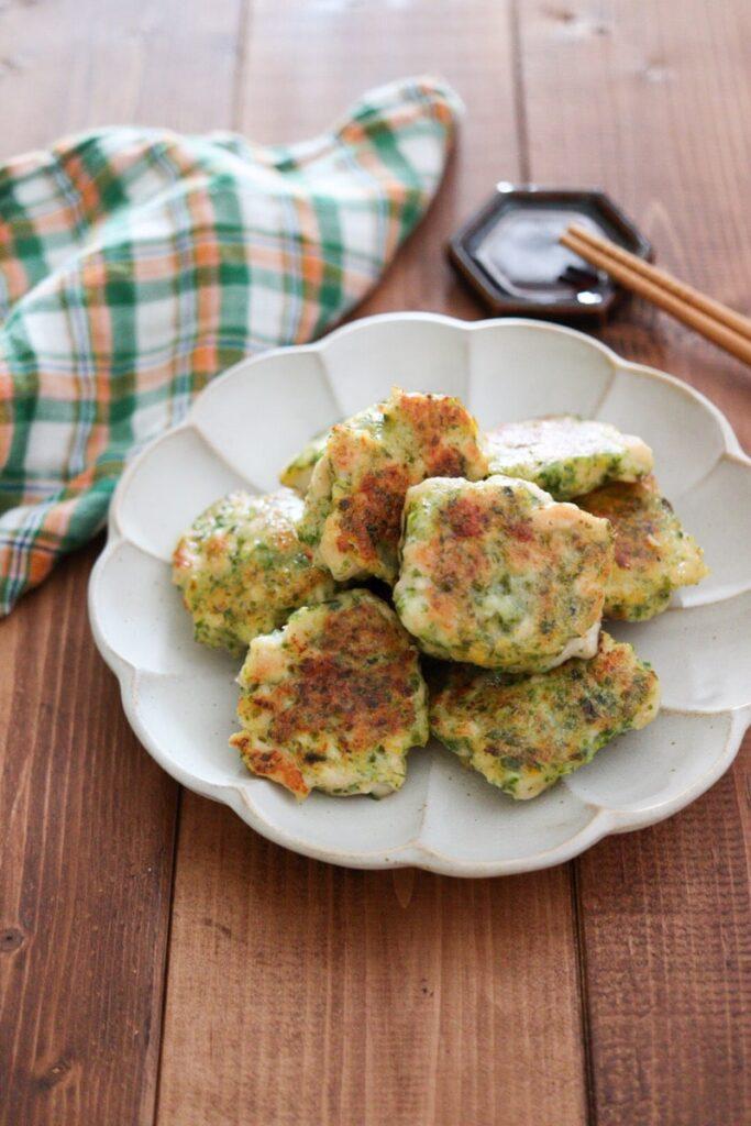 青のり チキンナゲット 豆腐 鶏むね肉 お弁当 レシピ 野菜嫌い 子供 幼児食