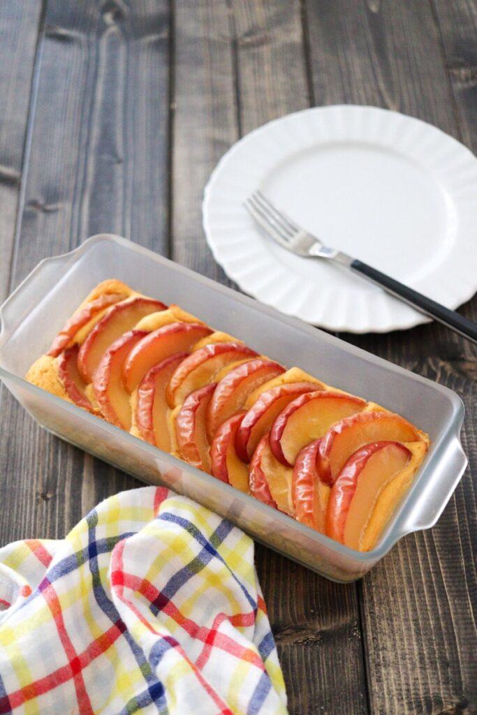 おからケーキ おからパウダー りんご 小麦粉なし 糖質オフ 糖質制限 バターなし