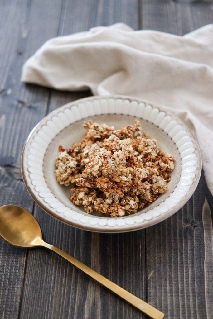 オートミール レシピ 小麦粉なし 手作り グラノーラ 油なし 小麦粉なし バナナ