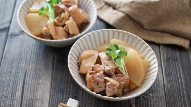 鳥もも肉 大根 煮物 味噌煮 フライパン