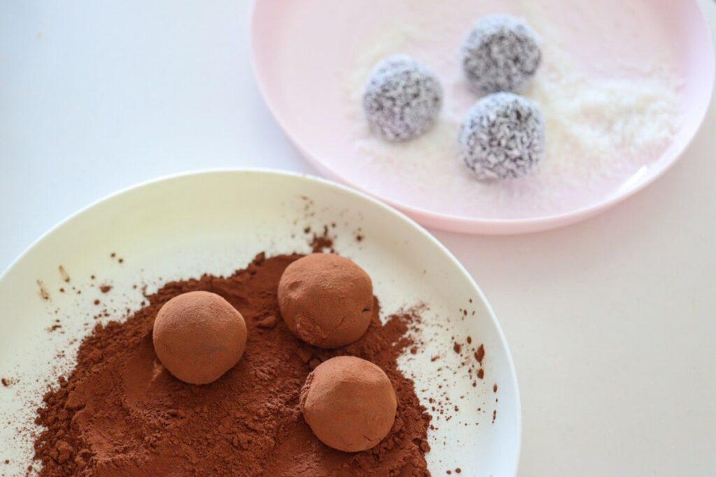 ヨーグルト トリュフ 豆乳 チョコレートなし 生クリームなし レシピ ココナッツファイン