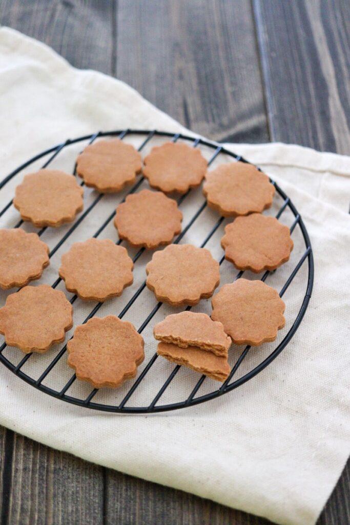 きな粉クッキー 米粉 卵なし バターなし 小麦粉なし レシピ