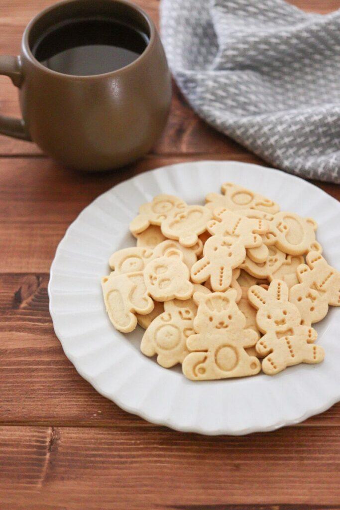 大豆粉クッキー 卵なし 小麦粉なし バターなし レシピ 簡単 ノンオイル クッキー