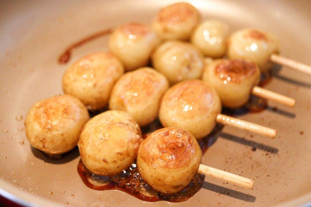 新じゃがいも レシピ 丸ごと 皮ごと 串焼き フライパン