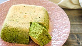 抹茶ケーキ 電子レンジ 卵なし バターなし 油なし ホットケーキミックス レシピ