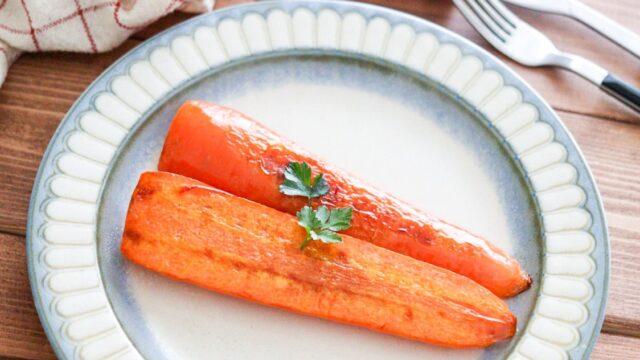 にんじんステーキ レシピ オリーブオイル フライパン 簡単