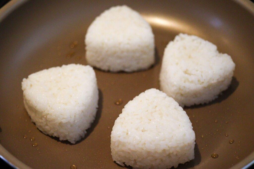 焼きおにぎり 砂糖なし フライパン ごま油