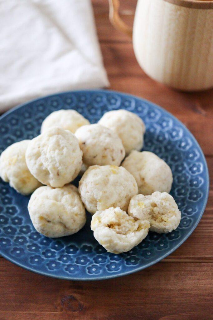 バナナパン 米粉パン ベーキングパウダー 簡単パン 幼児食 子ども おやつ