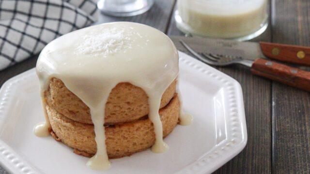 パンケーキソース 豆乳 バターなし 生クリームなし 米粉 ヘルシー