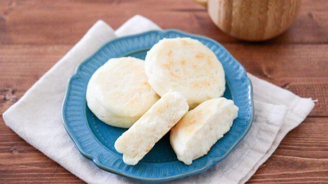 米粉パン ベーキングパウダー イーストなし 油なし 卵なし 小麦粉なし