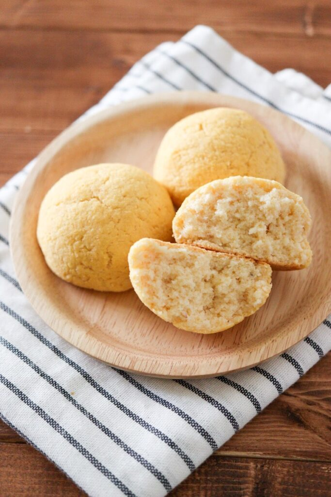 おからパン レシピ 生おから 小麦粉不使用 イースト不使用 ノンオイル
