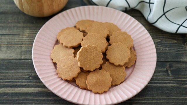 甘酒クッキー 砂糖不使用 小麦粉不使用 ノンオイルクッキー 米麹甘酒クッキー きな粉クッキー