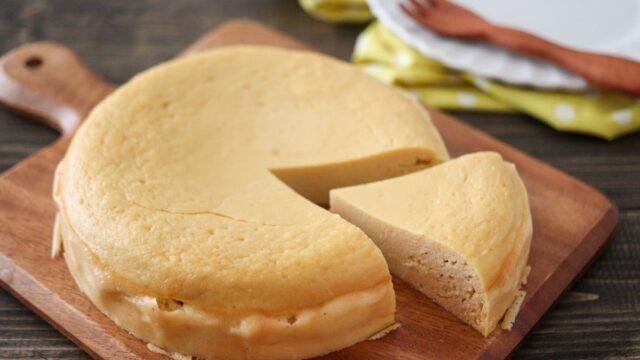 おからパウダー ヨーグルト ケーキ バターなし ベーキングパウダーなし