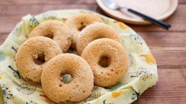 米粉 ドーナツ きな粉 卵なし 小麦粉なし 揚げない 焼きドーナツ