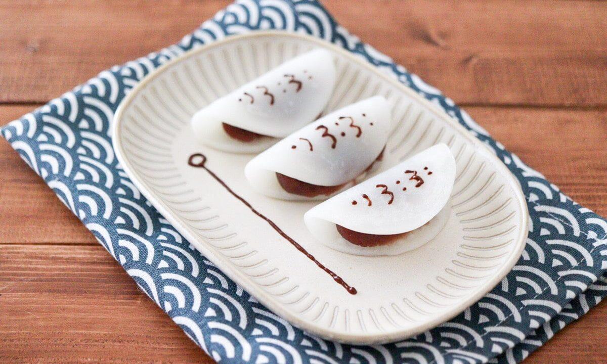 あんこ巻き 餅 柏餅 代用 米粉