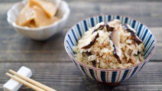 干ししいたけ 炊き込みご飯 かつお節 レシピ