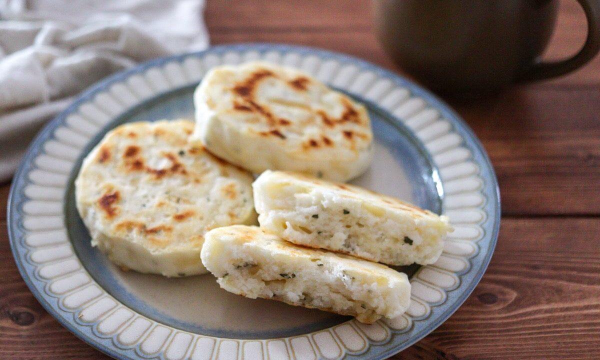 米粉パン ベーキングパウダー フライパン イーストなし レシピ