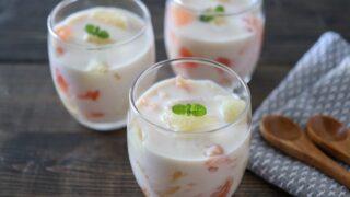豆乳ヨーグルト ゼリー レシピ