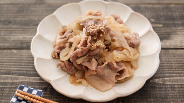 豚肉 新玉ねぎ 炒め物 野菜炒め 砂糖なし 醤油