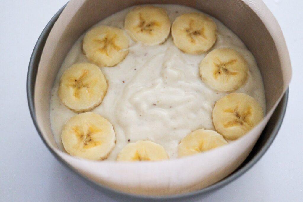 バナナ 米粉 ケーキ  豆腐