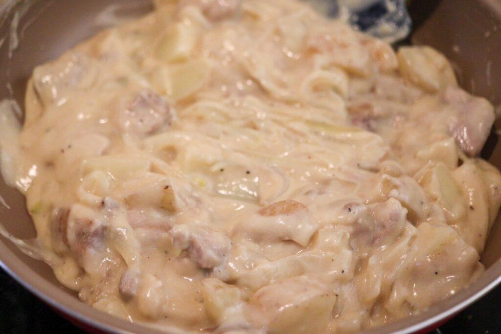 米粉 ホワイトソース レシピ
