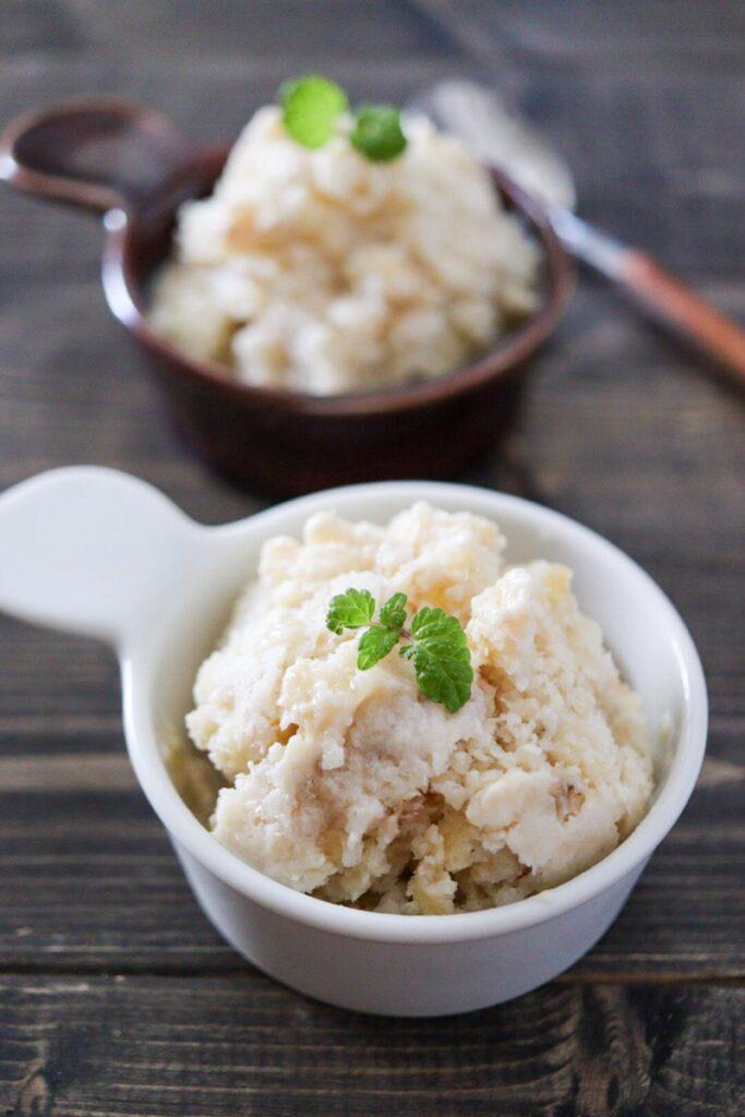 豆乳ヨーグルト バナナ アイス 簡単