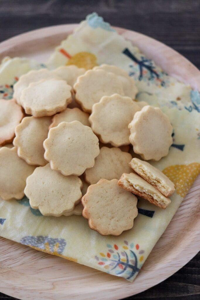大豆粉クッキー バターなし 小麦粉なしレシピ ダイエット レシピ