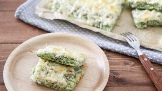 米粉ピザ しらす ほうれん草 幼児食 レシピ