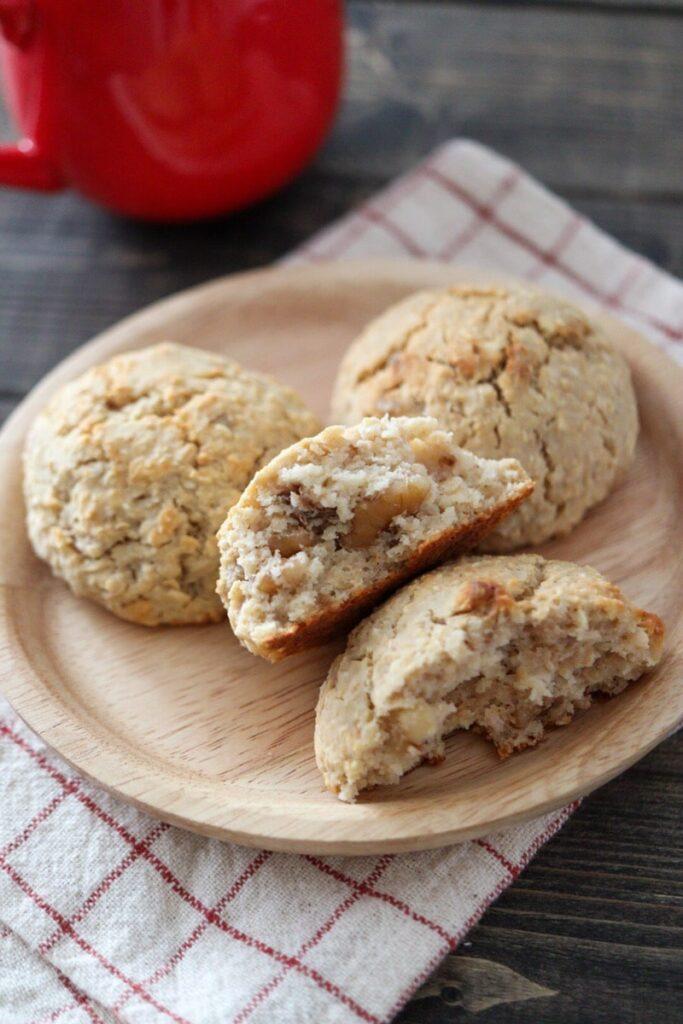 オートミール パン おからパン 卵なし 小麦粉なし バターなし