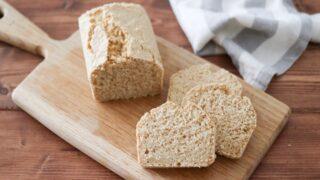 オートミール パン 小麦粉なし バターなし 卵なし グルテンフリー