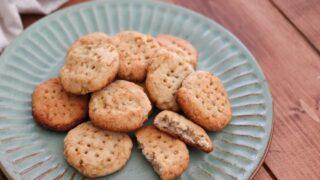 アーモンドプードル クッキー 卵なし 小麦粉なし バターなし