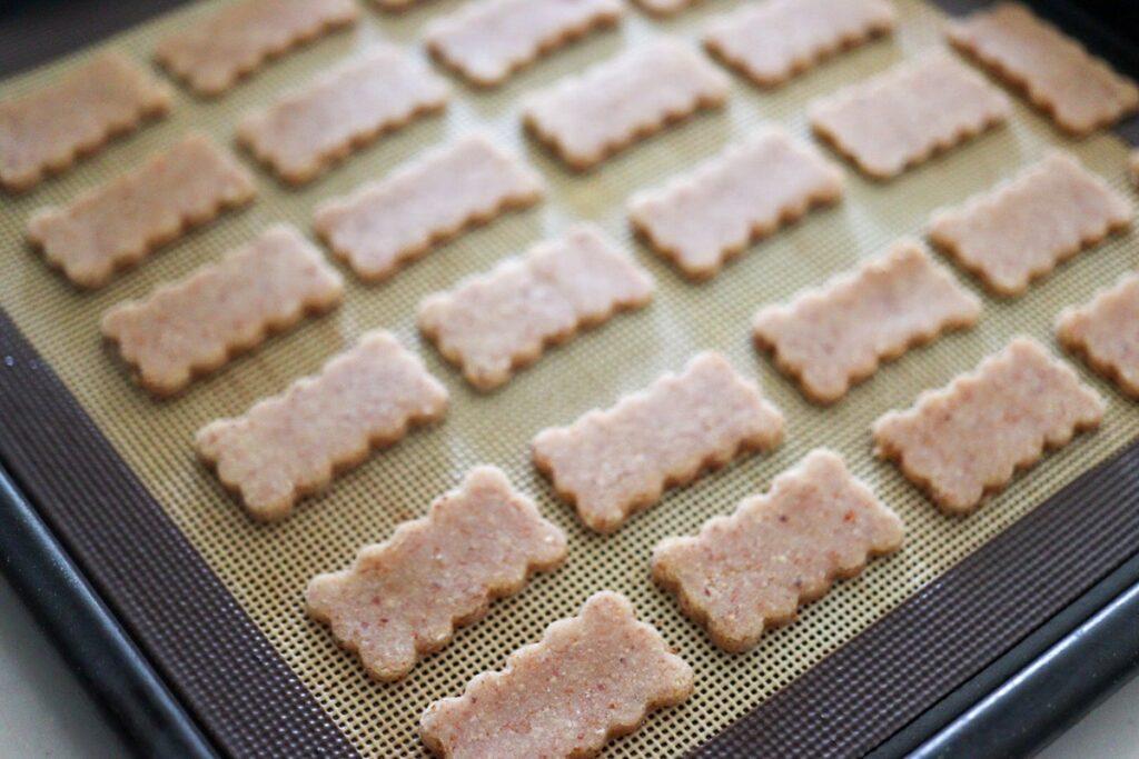 米粉クッキー サクサク はちみつ 卵なし