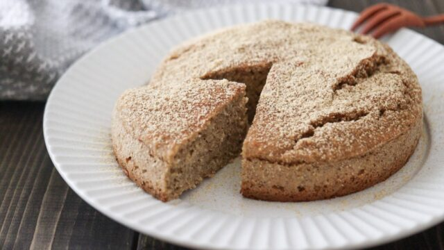 オートミールケーキ 卵なし 小麦粉なし 砂糖なし