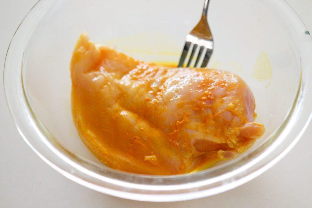 錦糸卵代用 卵なし トッピング レシピ ターメリック