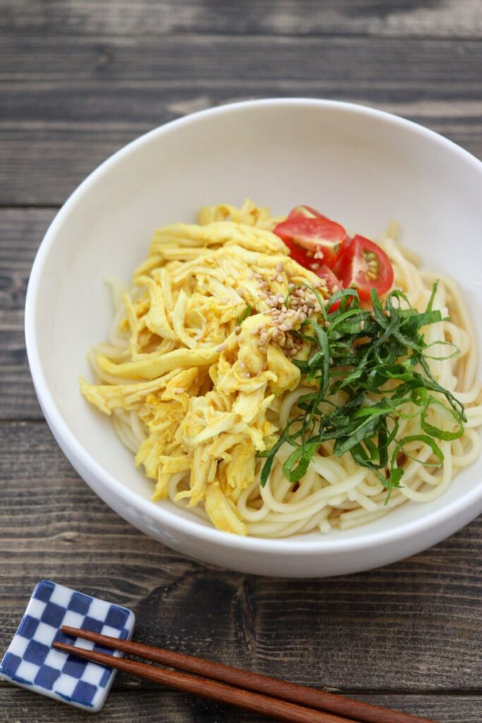 錦糸卵代用 卵なし トッピング レシピ 冷やし中華