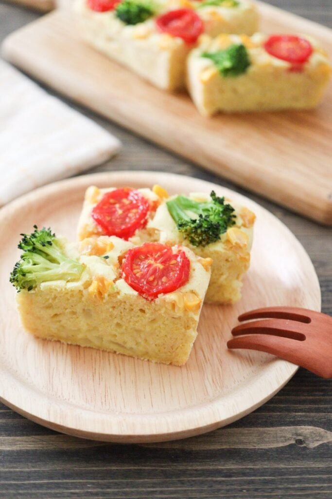 米粉ケークサレ 卵なし 小麦粉なし チーズなし