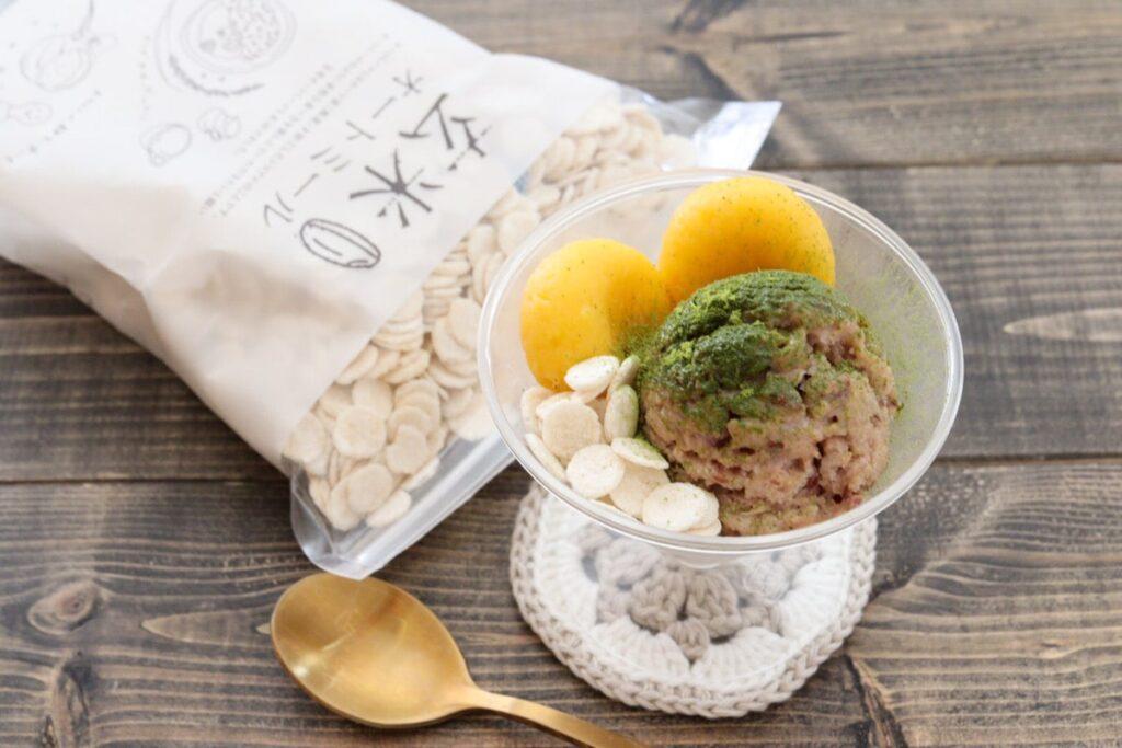 玄米オートミール レシピ アイス