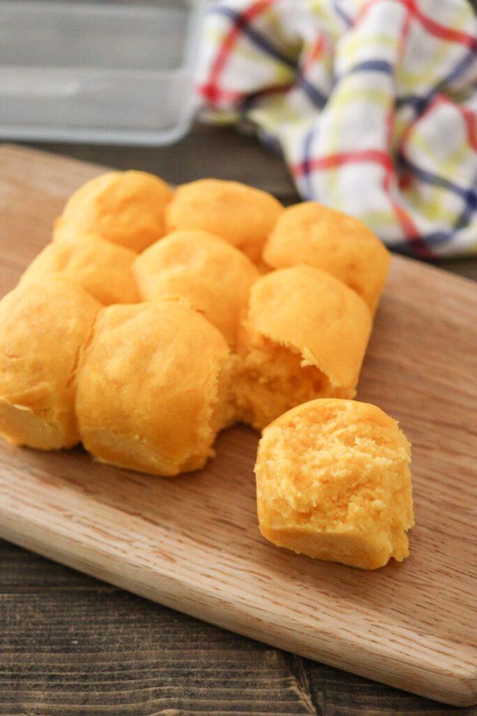 かぼちゃ レシピ 幼児食 簡単 米粉パン 卵なし バターなし