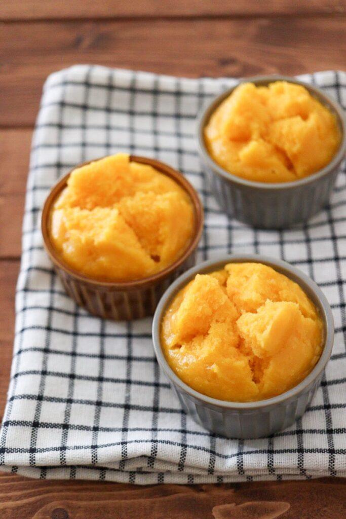 米粉 蒸しパン かぼちゃ 卵なし 油なし 幼児食
