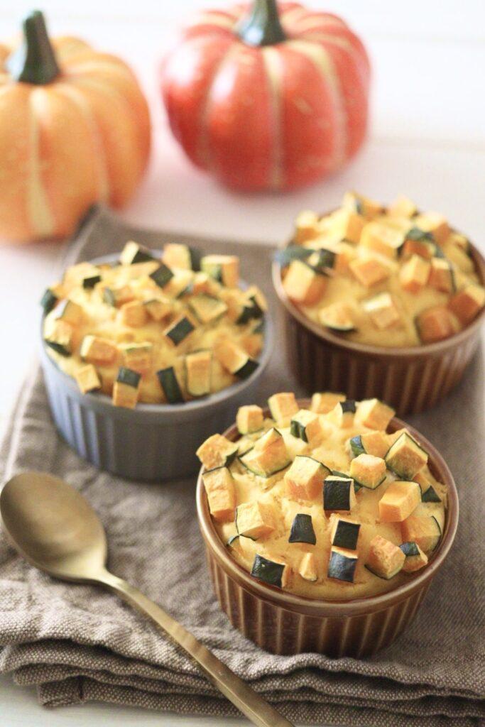 米粉 かぼちゃ マフィン 卵なし バターなし 油なし 幼児食 ハロウィン