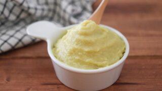 さつまいも クリーム 生クリームなし 卵なし 砂糖なし 幼児食 レシピ