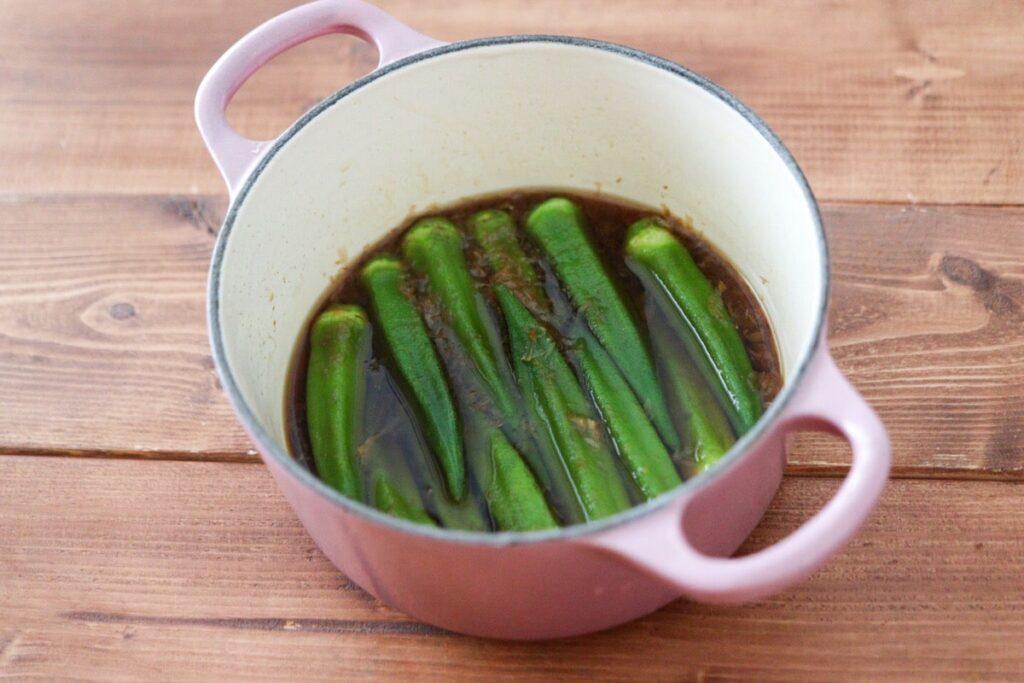 オクラ 煮浸し 簡単 めんつゆなし 出汁なし