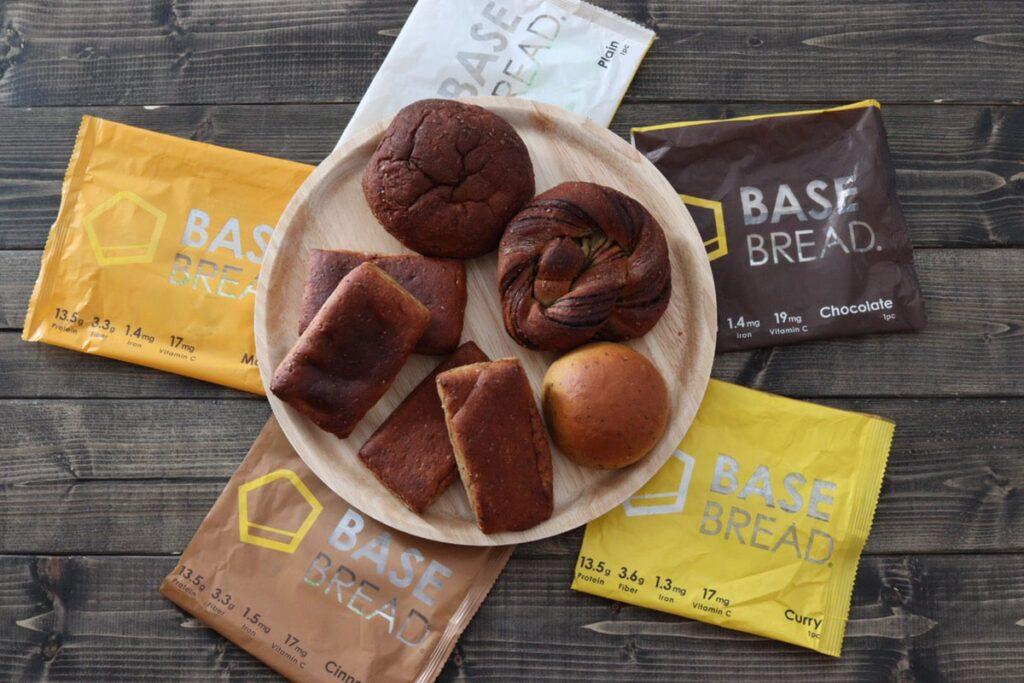 インスタグラム 人気 パン ベースブレッド 味 口コミ ベースフード